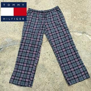 784b9f42d88 トミーヒルフィガー(TOMMY HILFIGER)のTOMMY HILFIGER トミーヒルフィガー チェックイージーパンツ(サルエル