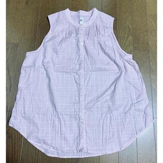 ギャップ(GAP)のGAP ギャップ ノースリーブブラウス(シャツ/ブラウス(半袖/袖なし))