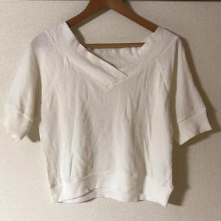 ミスティウーマン(mysty woman)のミスティーウーマン ワッフルTシャツ(Tシャツ(半袖/袖なし))
