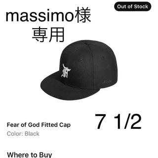 フィアオブゴッド(FEAR OF GOD)のmassimo様専用です。(キャップ)