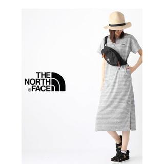 ザノースフェイス(THE NORTH FACE)の新品  THE NORTH FACE ノースフェイス ショートスリーブワンピース(ロングワンピース/マキシワンピース)