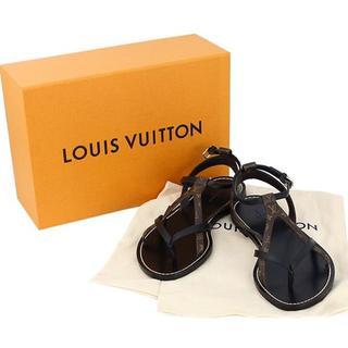 ルイヴィトン(LOUIS VUITTON)のルイヴィトン シティブレイク・ライン サンダル 23.5cm(サンダル)