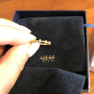 アーカー(AHKAH)の美品 アーカー ブルームリング7号(リング(指輪))