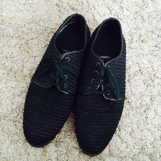 コムデギャルソン(COMME des GARÇONS)のギャルソン フラットシューズ acne(ローファー/革靴)