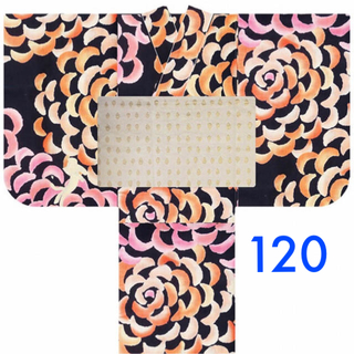 ツモリチサト(TSUMORI CHISATO)の120 新品 未使用 ツモリ ツモリチサト 浴衣 キッズ(甚平/浴衣)