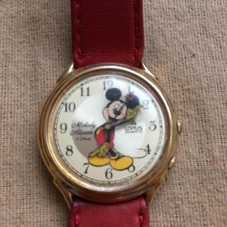 Disney - ローラスミッキーマウス腕時計