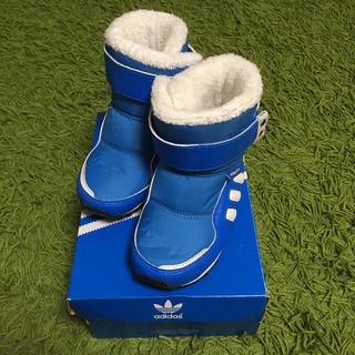 アディダス(adidas)のベビーキッズ服★adidasボアブーツ15cmアディダス(ブーツ)