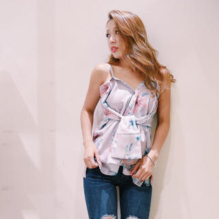 リップサービス(LIP SERVICE)のリップサービス3wayシャツ♡美品♡シャツブラウスベアトップ(シャツ/ブラウス(長袖/七分))