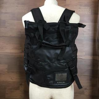 ディーゼル(DIESEL)のDIESEL ディーゼル リュック、手提げ袋 2wayバッグ(バッグパック/リュック)
