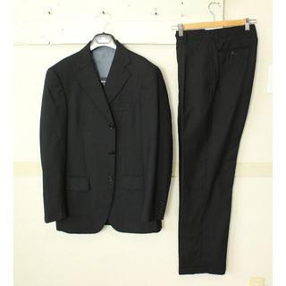 オリヒカ(ORIHICA)のS647★オリヒカ ジャケット メンズスーツ Y6 黒 ビジネス パンツに難あり(セットアップ)