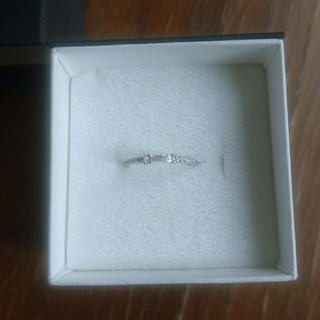 4℃ ダイヤモンドリング 18k(リング(指輪))