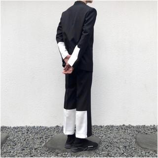 コムデギャルソン(COMME des GARCONS)の韓国 ファッション ズボン スラックス 値下げ可 オシャレ(スラックス)
