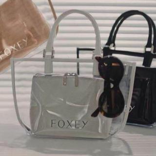 フォクシー(FOXEY)のフォクシー人気完売バックホワイト(ハンドバッグ)