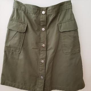 ひざ丈スカート(ひざ丈スカート)