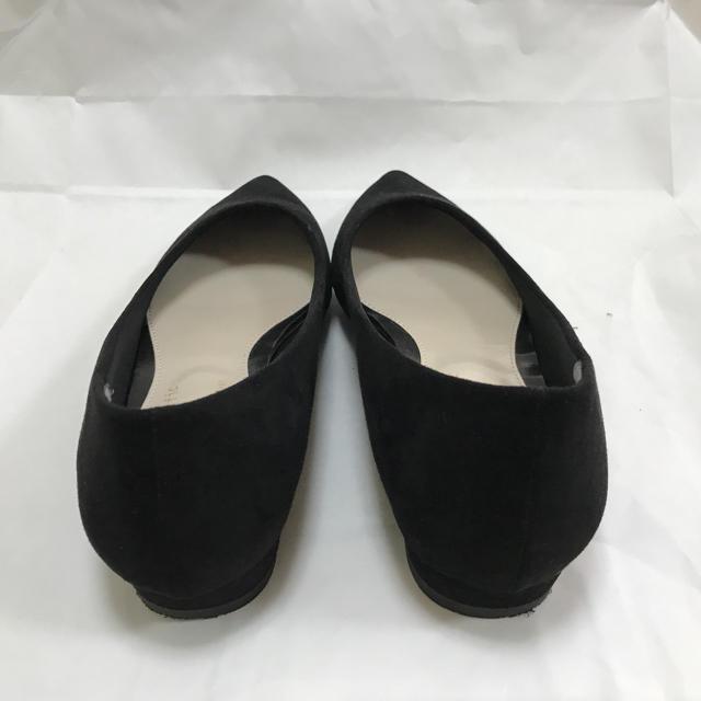ORiental TRaffic(オリエンタルトラフィック)のフラットパンプス【ORiental TRaffic × earth】黒 レディースの靴/シューズ(ハイヒール/パンプス)の商品写真