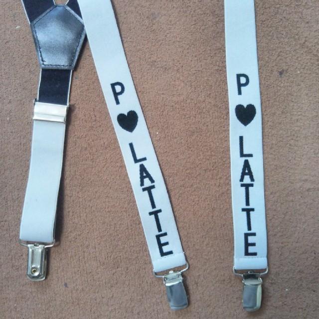 PINK-latte(ピンクラテ)のピンクラテ サスペンダー レディースのファッション小物(サスペンダー)の商品写真