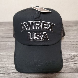 AVIREX - ⭐AVlREX/アビレックス⭐新品未使用 B.Bメッシュキャップ ブラック
