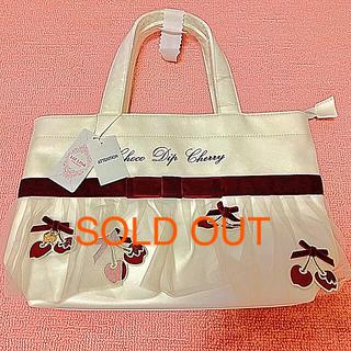 リズリサ(LIZ LISA)のリズリサのチェリー付きトートバッグ ♡新品未使用タグ付き♡(トートバッグ)