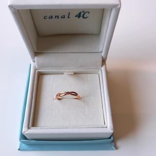 カナルヨンドシー(canal4℃)のカナル4℃ ピンキーリング «持ち運び用の小袋付»(リング(指輪))