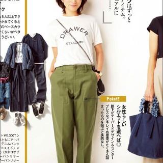 ドゥロワー(Drawer)のDRAWAR ロゴTシャツ (Tシャツ(半袖/袖なし))