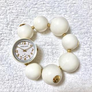 ツモリチサト(TSUMORI CHISATO)のツモリチサト ハッピーボール  tsumori chisato 時計 電池交換済(腕時計)