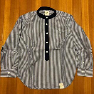 メゾンドリーファー(Maison de Reefur)の美品!MAISON DE REEFUR ノーカラーシャツ キッズ サイズ120(ブラウス)