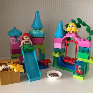 レゴ(Lego)のレゴ デュプロ アリエルの海のお城 10515 リトルマーメイド(その他)