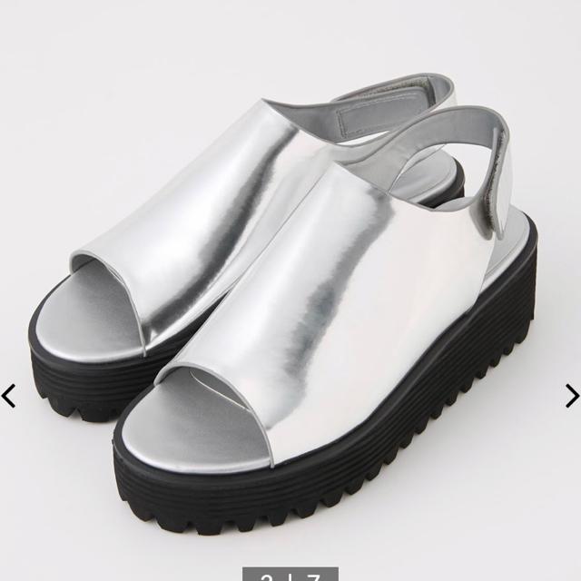 SLY(スライ)の【SLY】COVERED WEDGE SANDAL レディースの靴/シューズ(サンダル)の商品写真