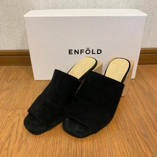 ENFOLD - ENFOLD サンダル
