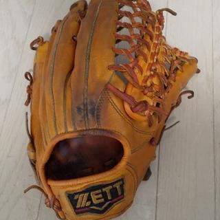 ZETT - 【値下げしました!】ZETTプロステイタス 軟式外野手用 【M球3球付】