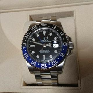 ロレックス(ROLEX)のROLEX ロレックス GMTマスター2 バットマン(腕時計(アナログ))