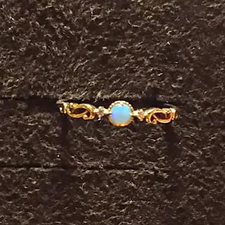 専用 オパール k10 リング 13号(リング(指輪))
