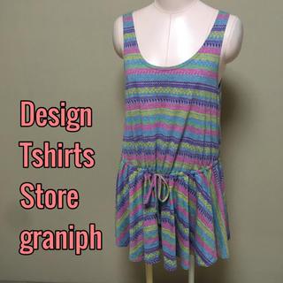 グラニフ(Design Tshirts Store graniph)のgraniph♡ミニワンピース 大きいサイズ チュニック(ミニワンピース)
