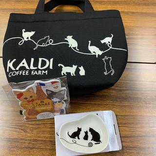 カルディ(KALDI)のKALDI ネコの日バック2019(トートバッグ)