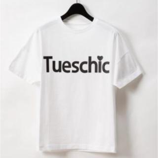 グレースコンチネンタル(GRACE CONTINENTAL)のグレースクラスのレタードプリントTシャツ(Tシャツ/カットソー(半袖/袖なし))