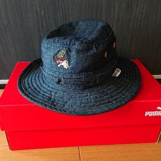 ヒステリックミニ(HYSTERIC MINI)のヒスミニ 帽子 ハット 48センチ(帽子)