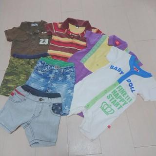 ベビーギャップ(babyGAP)の80 夏服 まとめ売り(その他)