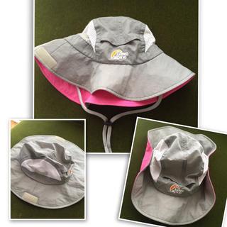 ロウアルパイン(Lowe Alpine)のアウトドア Lowealpine 帽子 ハット グレー ロウアルパイン(登山用品)