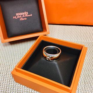 エルメス(Hermes)の【正規 良品】エルメス 18K リング 指輪 Hモチーフ AU750 K18YG(リング(指輪))