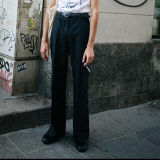 コムデギャルソン(COMME des GARCONS)のセンタープレス パンツ ブラック sullen購入(スラックス)