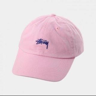 STUSSY - ストゥーシーキャップピンク