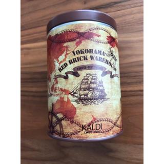 カルディ(KALDI)のbaresベア様専用 カルディ 横浜赤レンガ倉庫限定 キャニスター缶(容器)