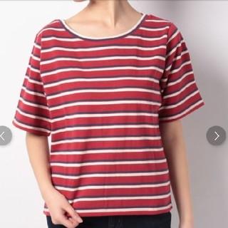 ケービーエフ(KBF)のKBF+ マルチボーダーTシャツ(Tシャツ(半袖/袖なし))