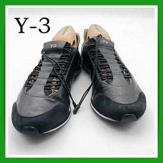 ワイスリー(Y-3)のA266 Y-3 YOHJI YAMAMOTO adidas レザースニーカー(スニーカー)
