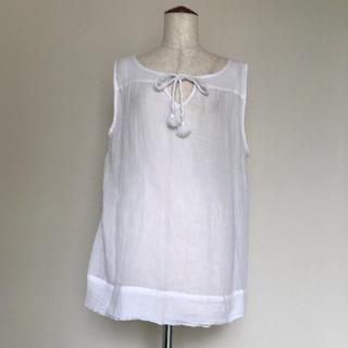 ギャップ(GAP)のGap  白のブラウス(シャツ/ブラウス(半袖/袖なし))