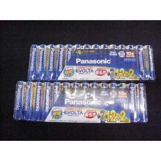 パナソニック(Panasonic)の ☆パナソニック EVOLTA 乾電池 単4形 14本×2 28本(防災関連グッズ)