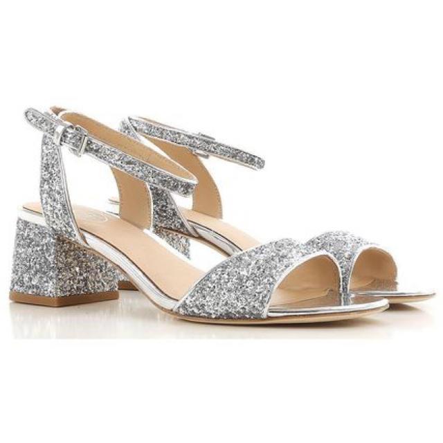 ASH(アッシュ)のASH グリッターサンダル レディースの靴/シューズ(サンダル)の商品写真