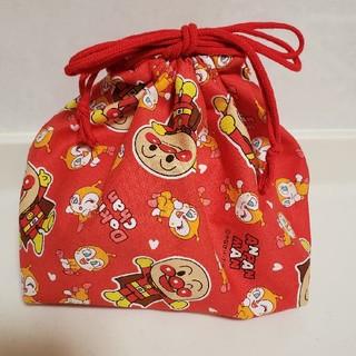 アンパンマン(アンパンマン)のお弁当 ランチ 巾着袋(ランチボックス巾着)