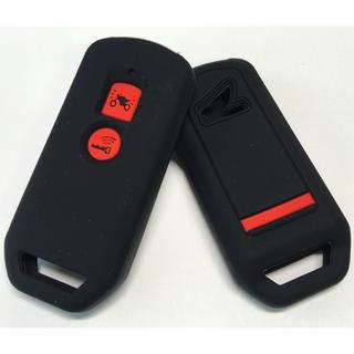 ホンダ(ホンダ)のHONDA PCX シリコンキーケース 黒赤 新型PCX スマートキー(その他)