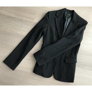 イング(INGNI)のイング 黒 ブラック スーツ ジャケット シンプル スタンダード(テーラードジャケット)
